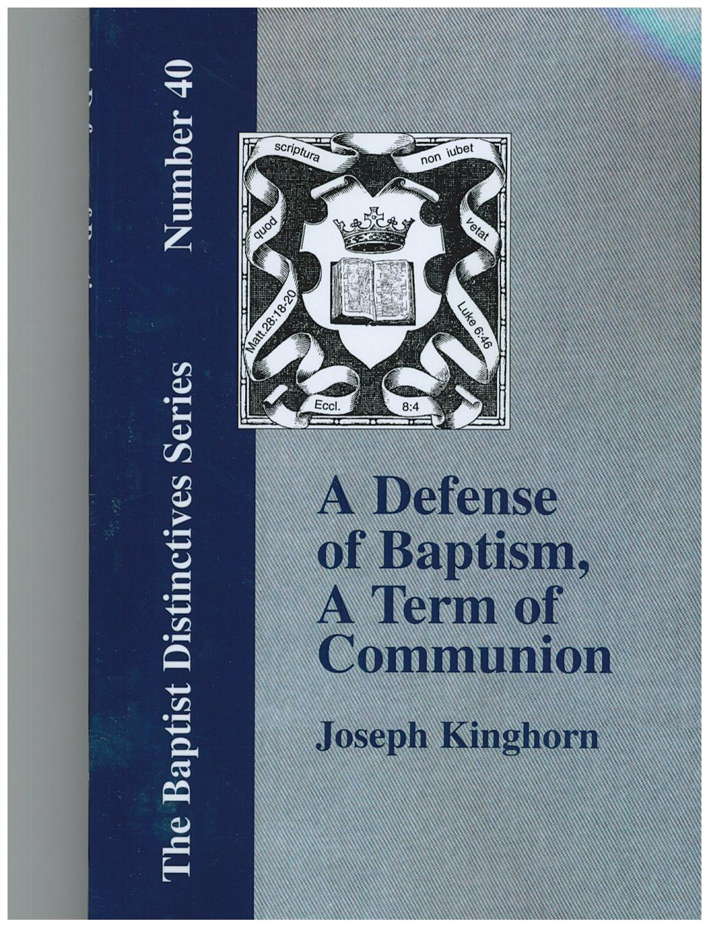 an analysis of baptism The sacraments of baptism and confirmation father john a hardon, sj from the dawn of christian history, baptism and confirmation have been very closely associated to this day, catholics belonging to the eastern rite receive both sacraments in infancy pope st leo i.